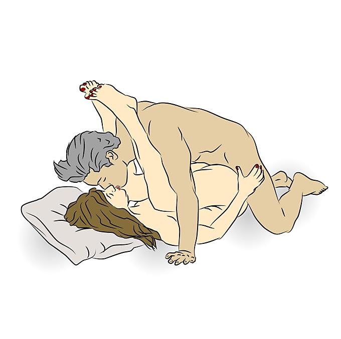 erotische filme frau liegt oben stellung